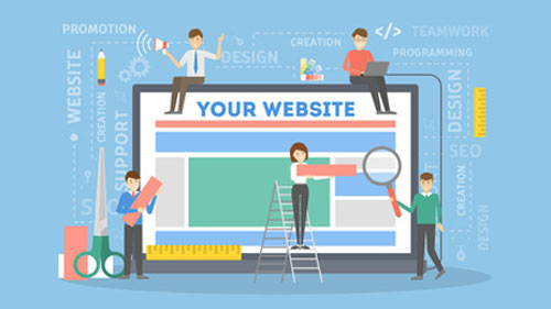 Website design team